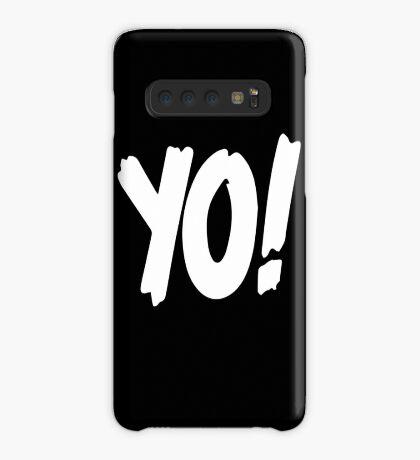 Yo! mtv raps replica logo 1993 era WHITE Case/Skin for Samsung Galaxy