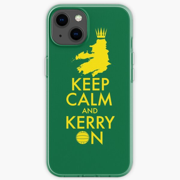 Keep Calm and Kerry On iPhone Soft Case