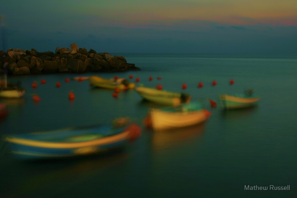 Dreamboats, Cinque Terre, Italy by Mathew Russell