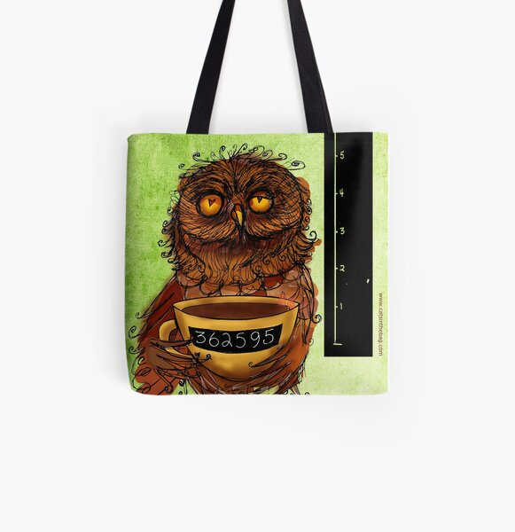 What my #Coffee says to me - August 27, 2013 All Over Print Tote Bag
