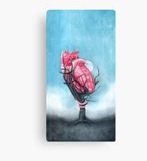 Heart's Apart Canvas Print