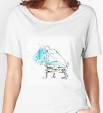 Piano music Women's Relaxed Fit T-Shirt