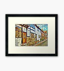 English Street Framed Print