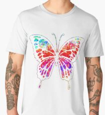 Psychedelic Butterfly Men's Premium T-Shirt