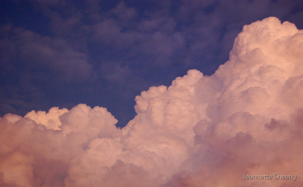 Night Clouds by Jeannette Sheehy
