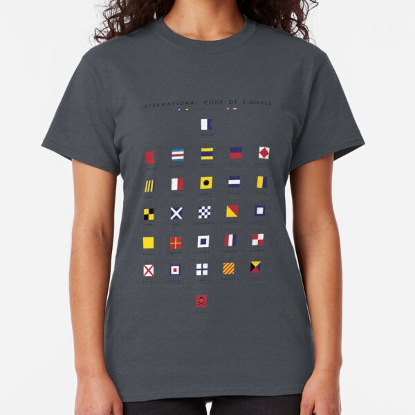 Nautical Flags: International Code of Signals Classic T-Shirt