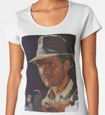 Raiders Of The Lost Ark Women's Premium T-Shirt