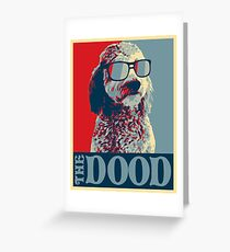 The Dood Goldendoodle Greeting Card