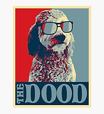 The Dood Goldendoodle Photographic Print