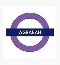 Next Stop, Agrabah Photographic Print