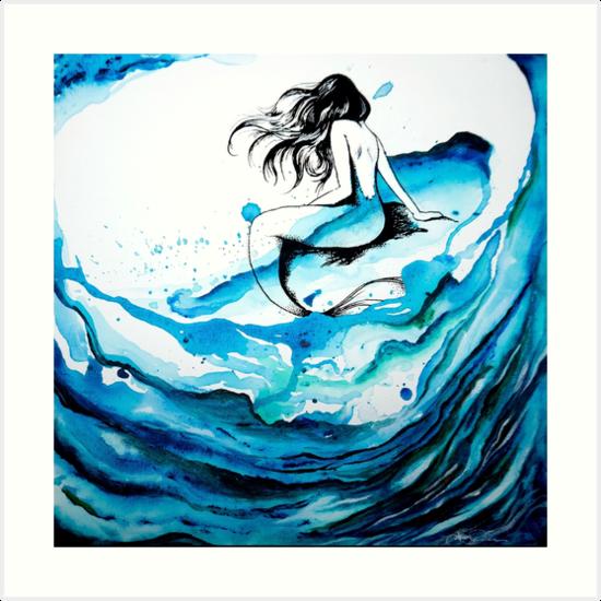 Mermaid Dreams by Tanya Masaniai Ibarra