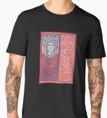 1967 Captain Beefheart Psychedelic Concert Poster Art Men's Premium T-Shirt
