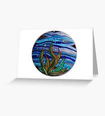 Kelp Bubbles (Color) Greeting Card