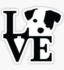 Jack Russel Terrier Love Sticker