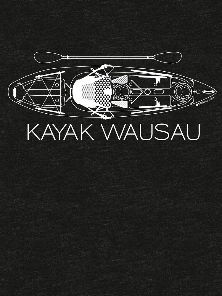 Kayak Wausau White by bigfatdesigns
