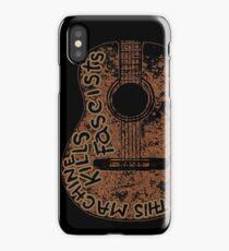 Woodys Machine iPhone Case/Skin