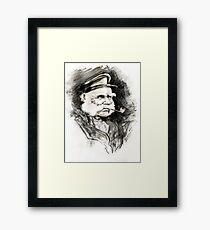 Captain Allard Framed Print