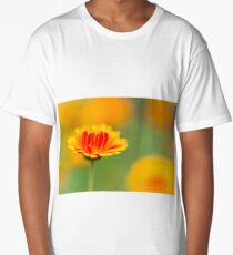 Marigold Mornings and Wild Flower Afternoons Long T-Shirt