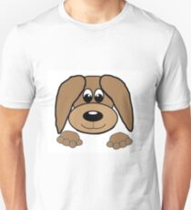 bloodhound peeking T-Shirt