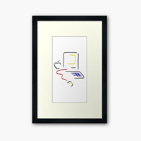 Picasso Mac Framed Art Print