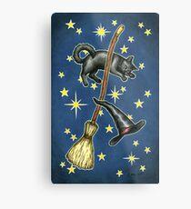 Everyday Witch Tarot - Back of Card Design Metal Print