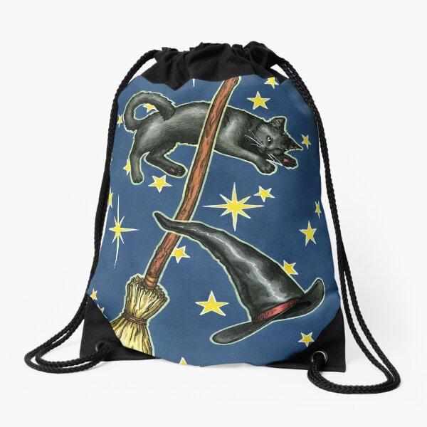 Everyday Witch Tarot - Back of Card Design Drawstring Bag