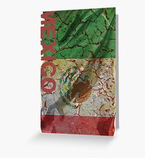 Flag Grunge Flags Mexico flag America Grungy Mexican Greeting Card