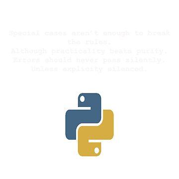 Python programmer t-shirt by talexander0819