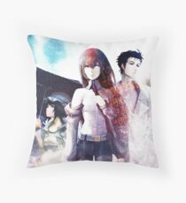 Steins;Gate Throw Pillow
