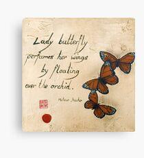Haiku Canvas Print