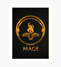 League of Legends MAGE [gold emblem] Art Print