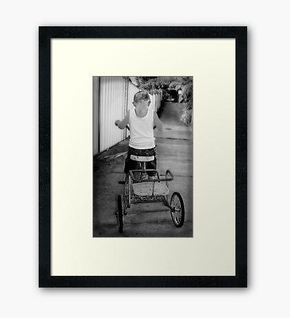 Ambition Framed Print