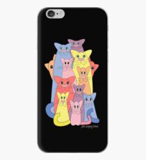 Twelve Cats For Happiness iPhone Case