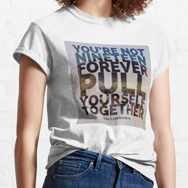 Not Nineteen Forever Lyric Graphic Classic T-Shirt
