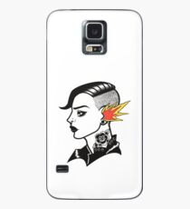 Old-School Hipster Case/Skin for Samsung Galaxy