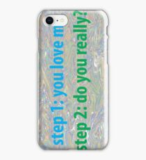 love me not iPhone Case/Skin