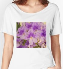 Purple Flower's Women's Relaxed Fit T-Shirt