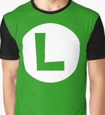 L - Luigi Graphic T-Shirt