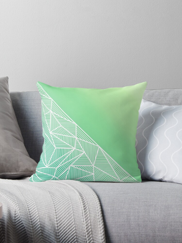 B Rays Geo Gradient Green by fimbisdesigns