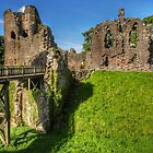 Grosmont Castle, Wales by hanspeder