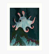 Dumbo Octopus Art Print