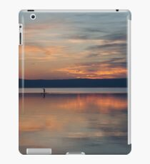 Surfer Rowing To Shore iPad Case/Skin