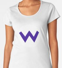 W - Wario Women's Premium T-Shirt