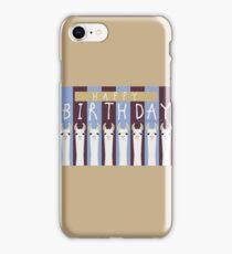 HAPPY BIRTHDAY LLAMAS iPhone Case/Skin
