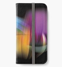 Magnetic Light Flux Abstract iPhone Wallet/Case/Skin
