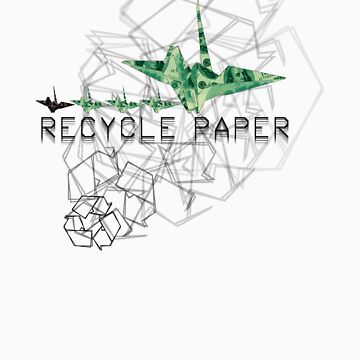 Origami Recycling by antrstd