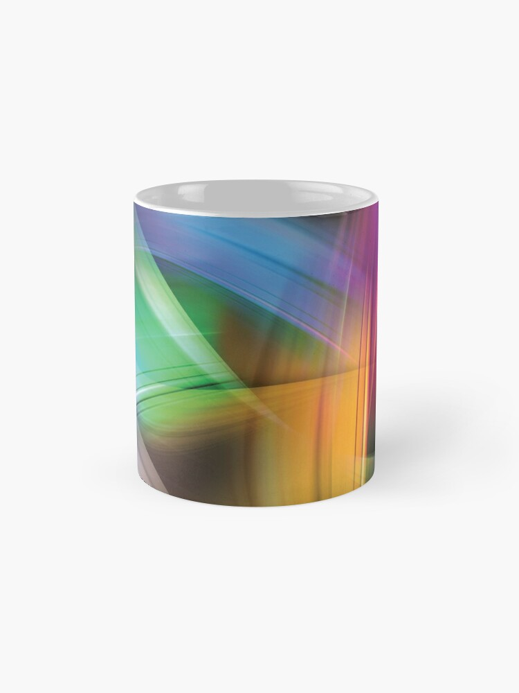 Alternate view of Magnetic Light Flux Abstract Standard Mug