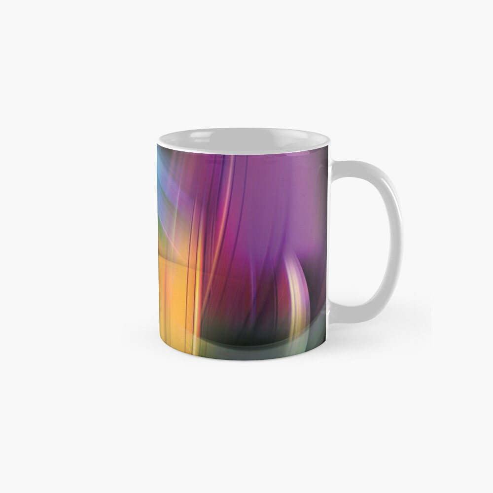 Magnetic Light Flux Abstract Standard Mug