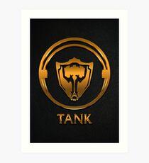 League of Legends TANK [gold emblem] Art Print