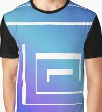 Blue Maze Graphic T-Shirt